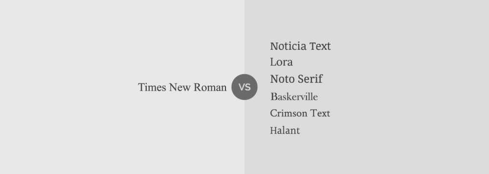Tipografia no debes usar: Times New Roman