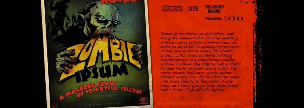Lorem Ipsum Zombies