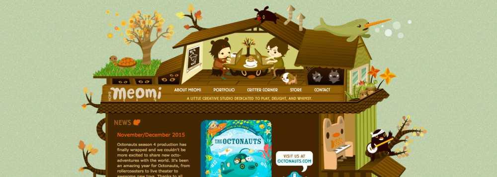 Ilustración web