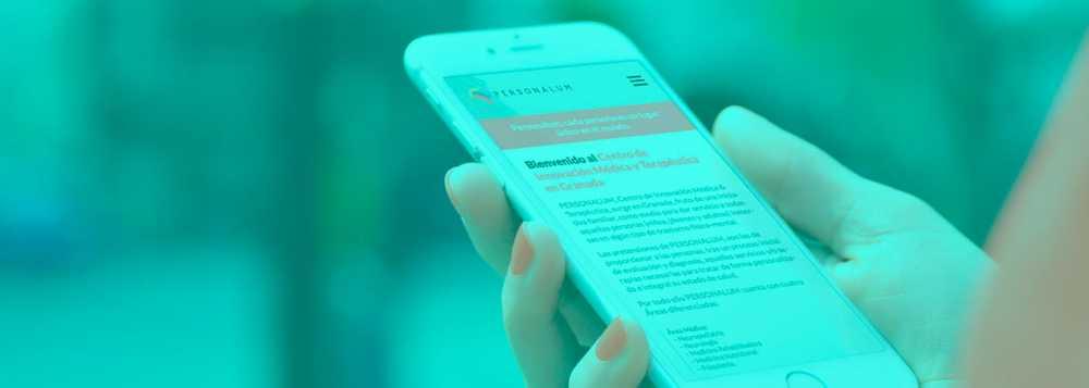 Dissenyant web per a mòbils