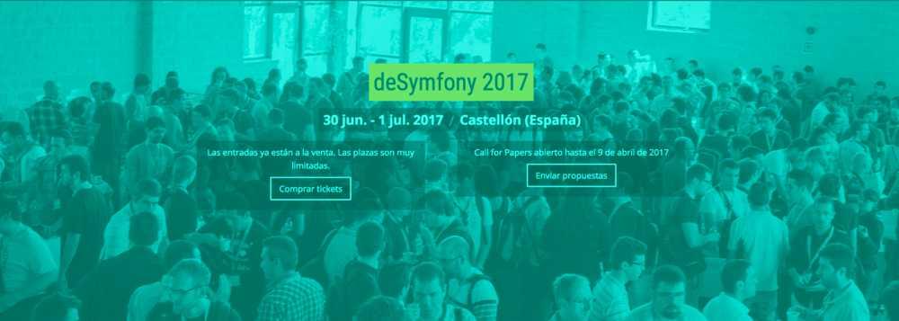 Próximo evento deSymfony 2017