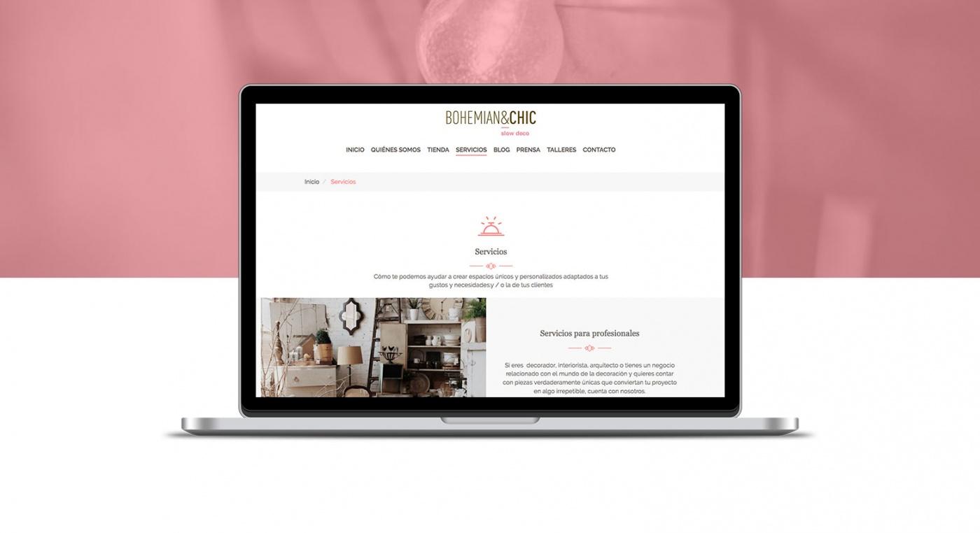 Proyecto web Bohemian&Chic