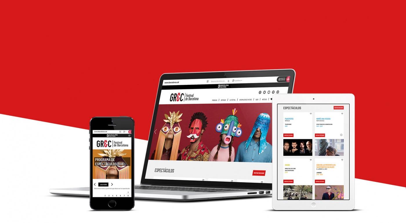 Proyecto web Festival Grec 2018