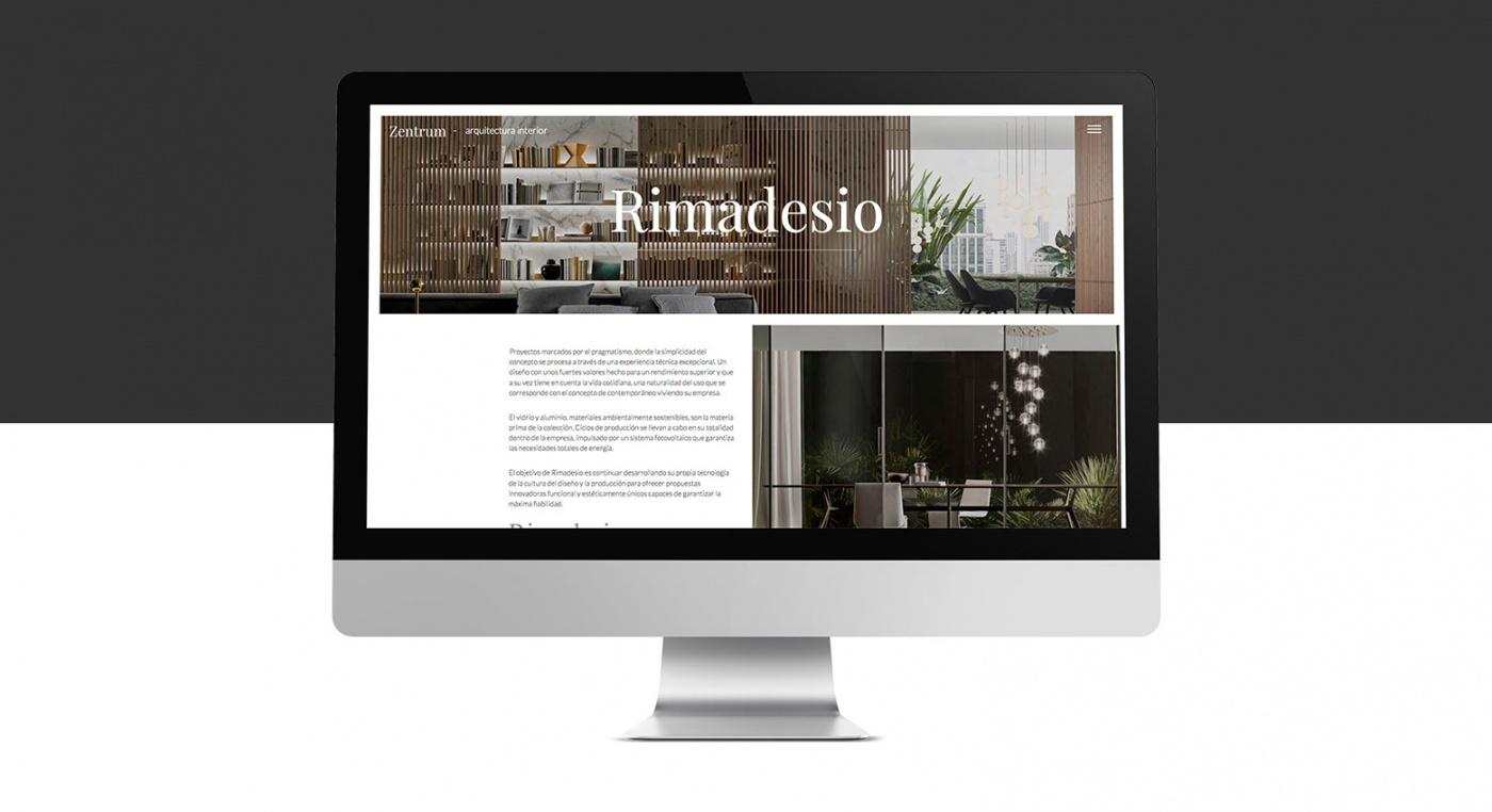 Proyecto web Zentrum